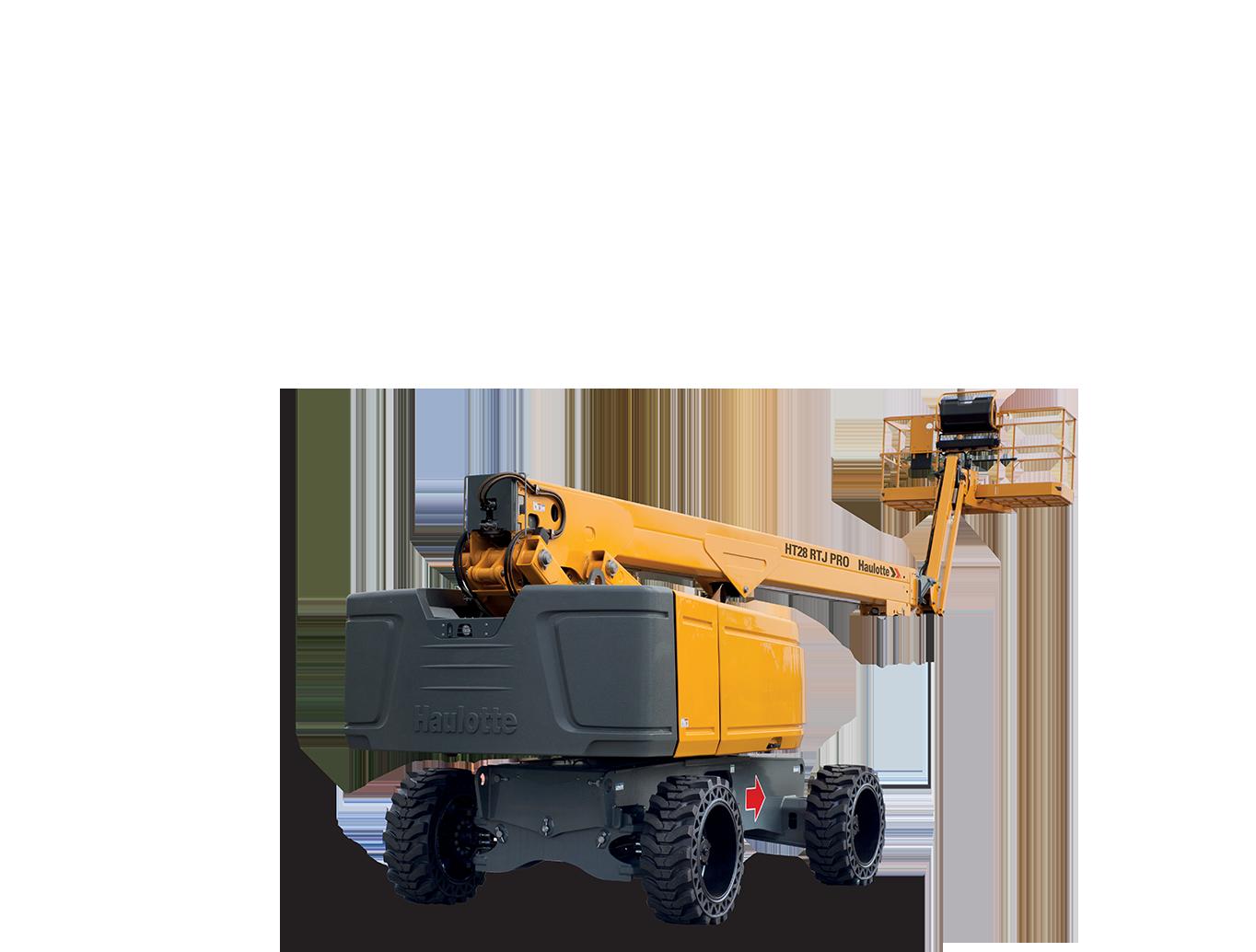 Teleskopbühne Diesel